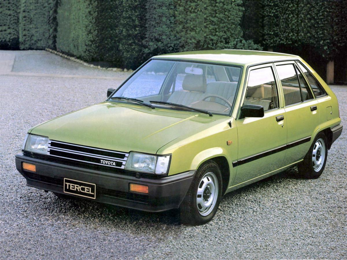 Toyota Tercel Technical Specifications And Fuel Economy